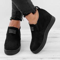 Femmes Tissu Talon compensé Chaussures plates avec Autres chaussures