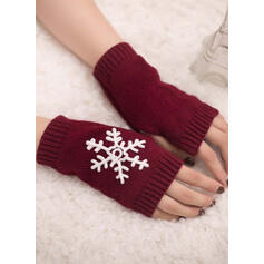 Solid Color/Christmas fashion/Comfortable/Christmas Gloves