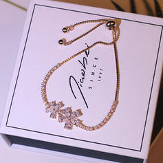 Unique Cuivre avec Zircon de Femmes Bracelets de mode