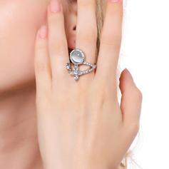 Schöne Legierung mit Juwel Frauen Ringe