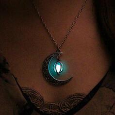 heißeste Leuchtend Legierung mit Mond Halsketten