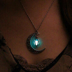Hottest Világító Ötvözet -Val Hold nyakláncok