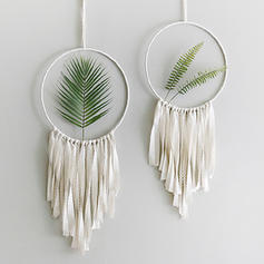 Modern Vertical Botanical Dreamcatcher Wall Tapestries