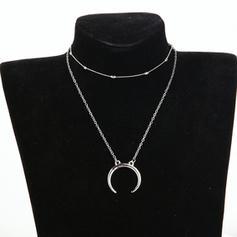 Prächtig Legierung Frauen Mode-Halskette