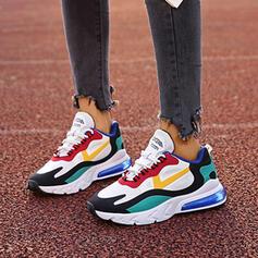 Femmes PU Décontractée De plein air Athlétique avec Élastique chaussures