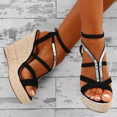 Σανδάλια Πλατφόρμα Σφήνες Ανοιχτά σανδάλια toe Με Οι υπολοιποι παπούτσια