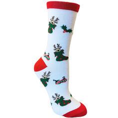 Jul Rensdyr Komfortabel/Jul/Crew sokker/Unisex Sokker