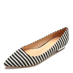Donna Tessuto Senza tacco Ballerine scarpe