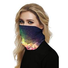 Respirável/Protetora/Cobertura total/Multifuncional/Sky Print/Sem Costura/Prova de poeira Bandanas