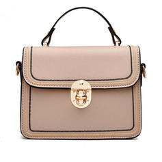 Commuting/Solid Color Satchel/Shoulder Bags