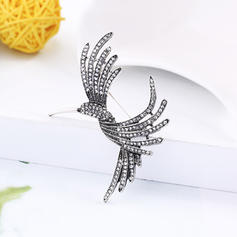 Unique Alloy With Rhinestone Women's Fashion Brooches