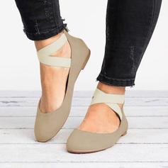 Women's Suede Flat Heel Sandals shoes