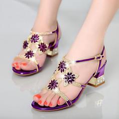 Donna Vera pelle Tacco a spillo Sandalo Stiletto con Applicazione Fiore scarpe