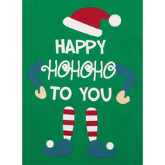 Carta Listra Família Combinando Natal Pijama