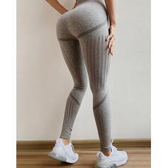 Jacquard Long Casual Sexy Sporty Shorts