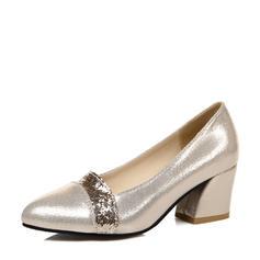 Dla kobiet Byszczący brokat Obcas Slupek Czólenka Zakryte Palce Z Byszczący brokat obuwie