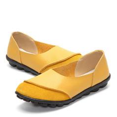 Femmes Caoutchouc Talon plat Chaussures plates avec Autres chaussures