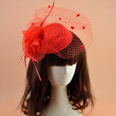Ladies' Beautiful Organza With Feather Fascinators/Tea Party Hats