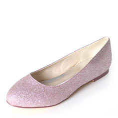 Femmes Pailletes scintillantes Talon plat Chaussures plates