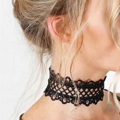 Moda Encaje Señoras' Collar de la manera