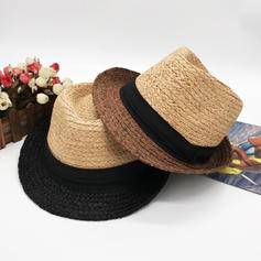 Men's Hottest Salty Straw Straw Hats/Panama Hats/Kentucky Derby Hats