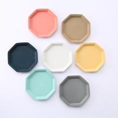 Colorful Porcelain Dessert Plates