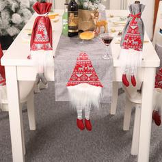 Merry Christmas Long Leg Cloth Table Runner