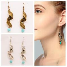Exotic Alloy Earrings