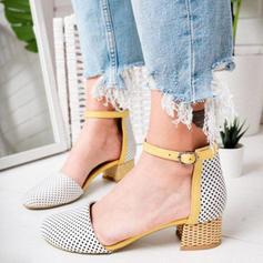 Kvinder Klud Stor Hæl sandaler med Spænde sko