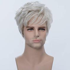 4A Remy olmayan Düz İnsan saçı Kapaksız Peruklar