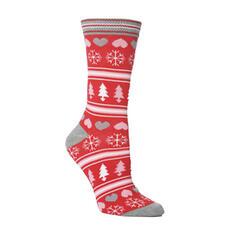 Unisex Merry Christmas Snowman Reindeer Santa Cotton Christmas Socks