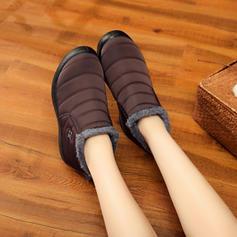 Dla kobiet Płótno Płaski Obcas Plaskie Kozaki Z Pozostałe obuwie