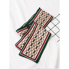geometriske Skriv ut Nakke/Hode/attraktiv Silk skjerf