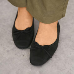 De mujer Ante Tacón plano Planos Encaje con Bowknot zapatos