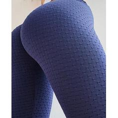 Solid Long Casual Sexy Long Sporty Leggings