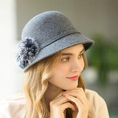 Ladies' Glamourous/Unique Wool Floppy Hats