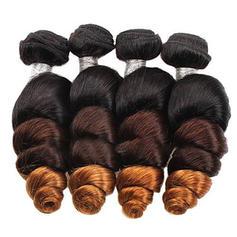 4A Suelto Cabello humano Postizo de cabello humano (Vendido en una sola pieza) 50g