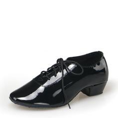 Men's Leatherette Latin Dance Shoes