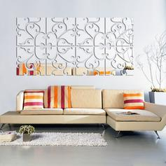 Mirror Wall Stickers Set of 4