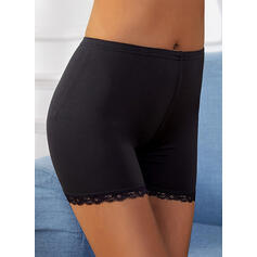 Solid Lace Pants Shorts Leggings