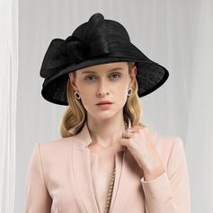 Dames Romantique/Style Vintage Batiste Chapeaux de type fascinator/Kentucky Derby Des Chapeaux/Chapeaux Tea Party