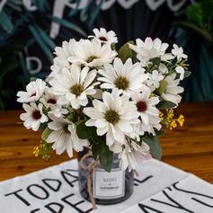 """11.81""""(Approximative 30cm) Tournesols & Marguerites Soie Bouquets"""