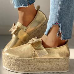 De mujer Lona Casual al aire libre con Bowknot zapatos