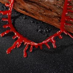 Halloween Blood Alloy Plastic Necklaces