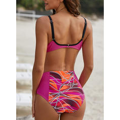 Floral Strap Fashionable Beautiful Bikinis Swimsuits