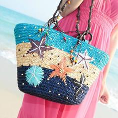 Perlový styl/Hvězda Polyester Tote Tašky/Tašky přes rameno/Plážové tašky