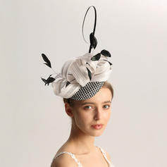 Ladies' Special/Glamourous/Elegant/Unique/Fancy/Romantic/Vintage/Artistic Cambric/Feather Fascinators/Tea Party Hats