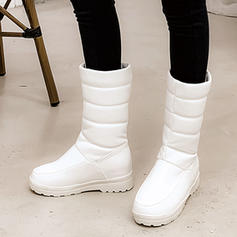 Women's PU Low Heel Boots With Others shoes