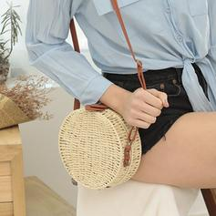 Braided Straw Crossbody Bags/Shoulder Bags/Beach Bags