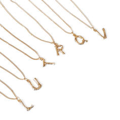 Lovely Brass Women's Necklaces